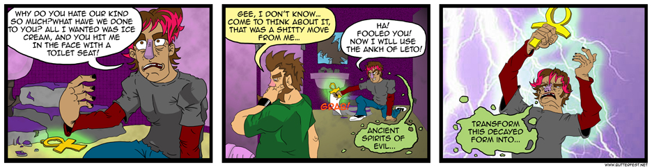 Ancient Spirits of Evil…