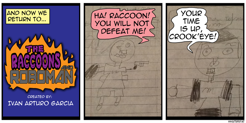 The Racoons and Roboman, pt 1