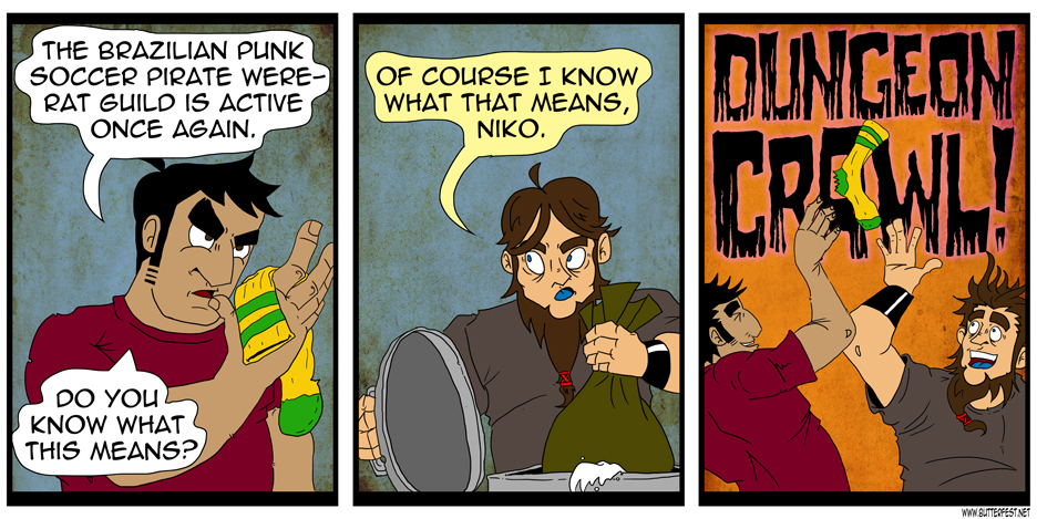 Dungeon Crawl!