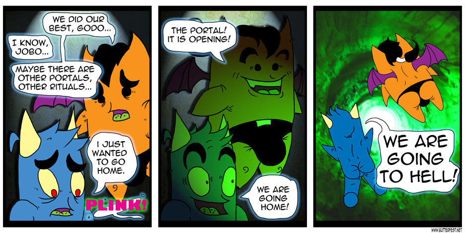 Going home, Homes! -The ACTUAL Strip.