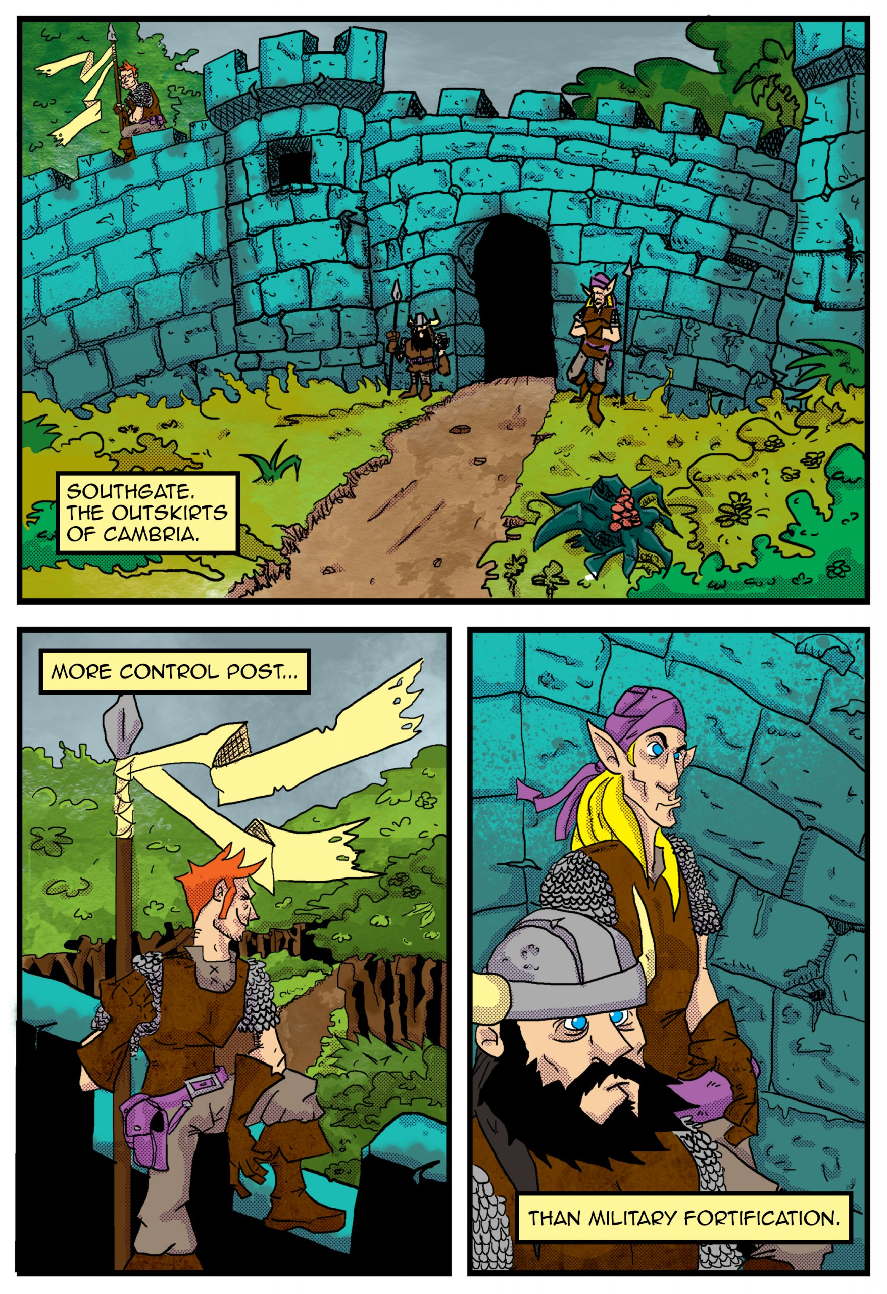 Chapter 1: The Ancient One Page 1